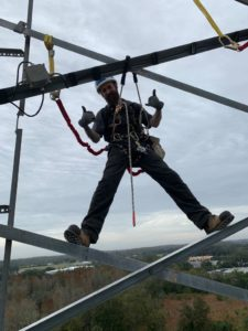 Learning Alliance Student Feeling Comfortable in Harness